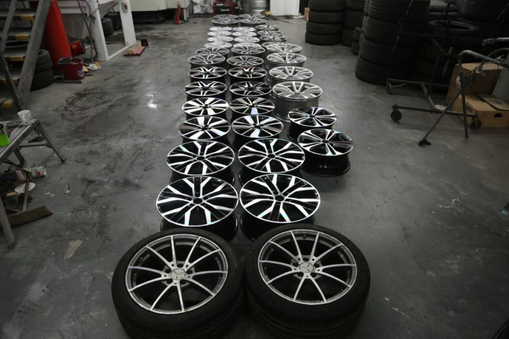 Alloy Wheels Refurb and Repair