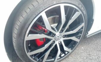 diamond cut alloy wheels huddersfield Golf GTI Mk7