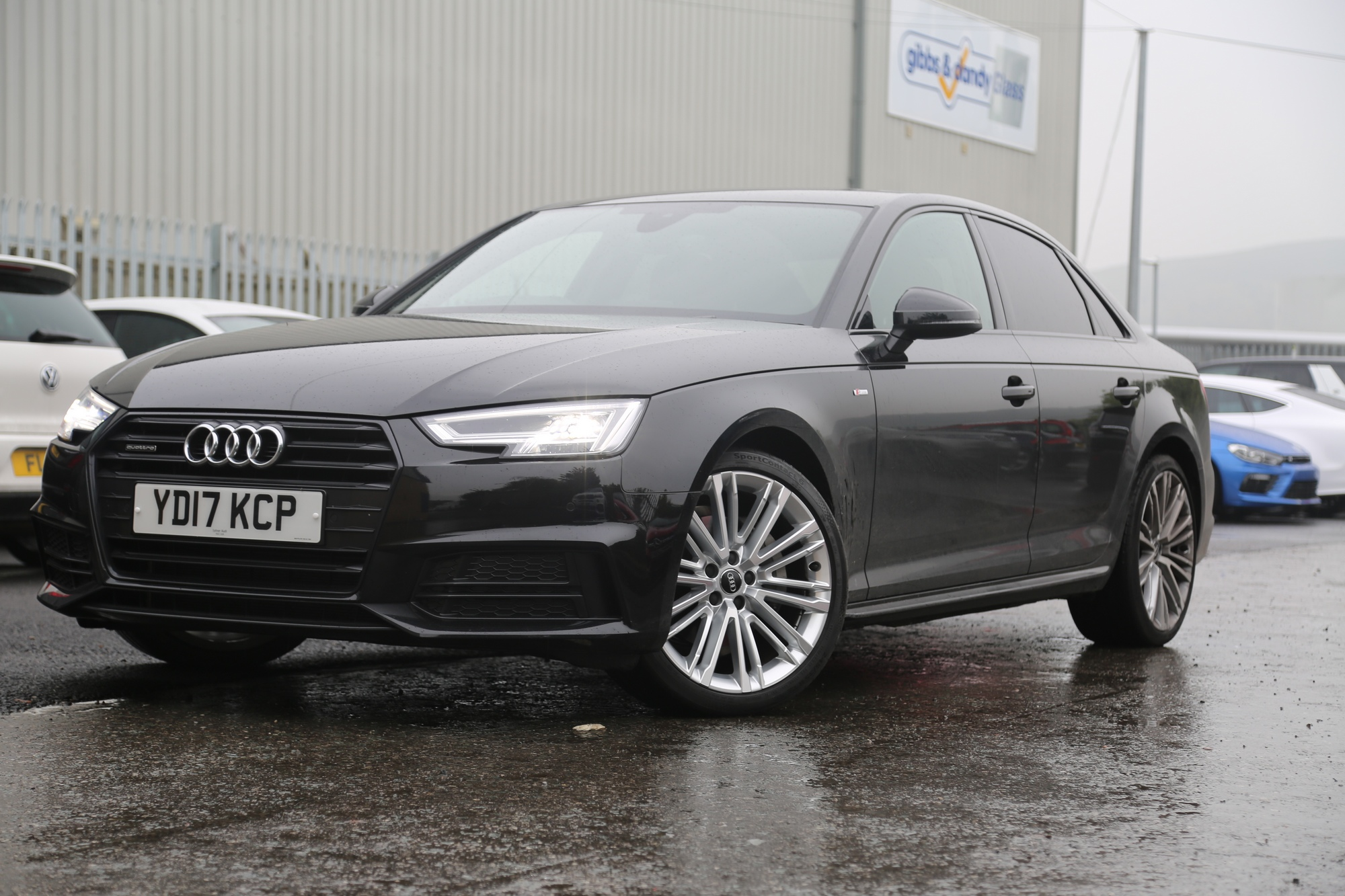 Audi A4 Diamond Cut Refurb