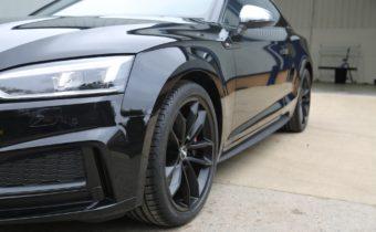 diamond cut huddersfield audi s5 black wheels